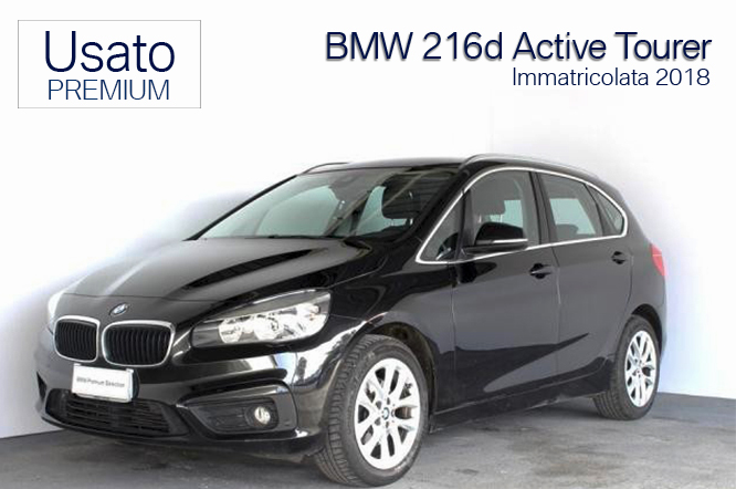 BMW 216d Active Tourer Advantage