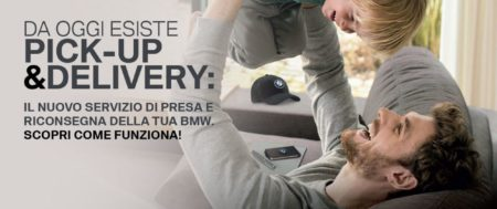 BMW e MINI Servizio di Pick Up and Delivery